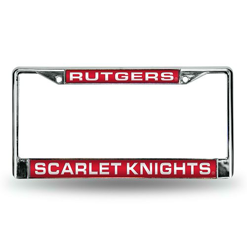 Rutgers Scarlet Knights License Plate Frame