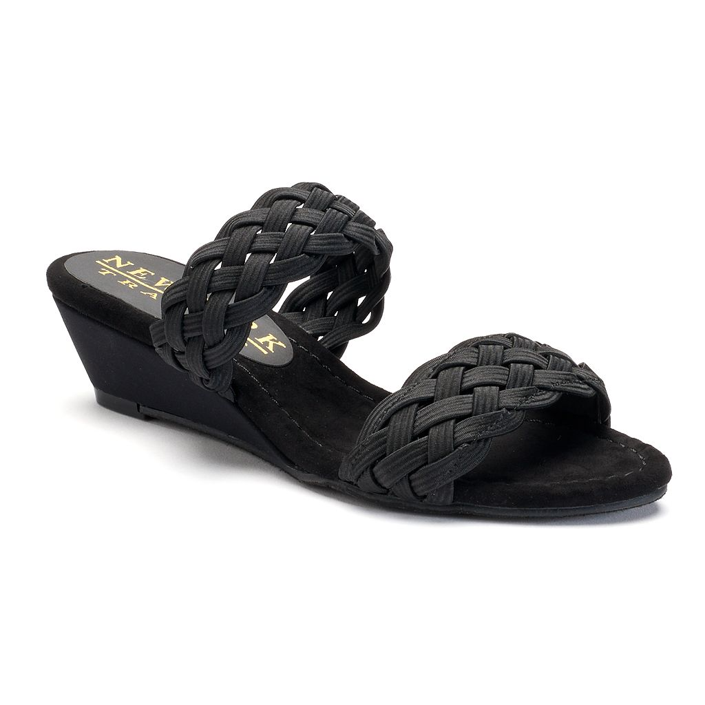 New York Transit Advanced Idea Women's Wedge Sandals