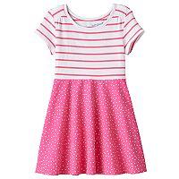Toddler Girl Jumping Beans® Print Skater Dress