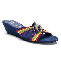 New York Transit Advantage Color Women's Wedge Sandals