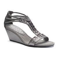 New York Transit Bright Light Women's Wedge Sandals