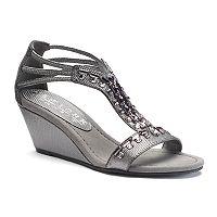 New York Transit Bright Light Women's Wedge Sandals