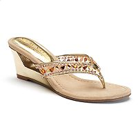 New York Transit Fun Time Women's Wedge Sandals
