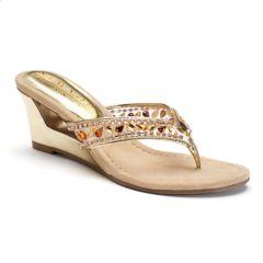 New York Transit Fun Time Women's Wedge Sandals