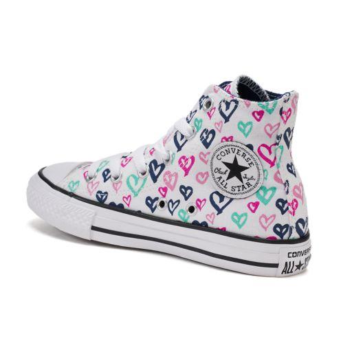 Girls' Converse Chuck Taylor All Star Print High Top Sneakers