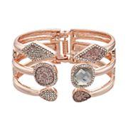 Jennifer Lopez Geometric Hinged Cuff Bracelet