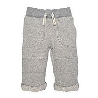 Baby Boy Burt's Bees Baby Organic Terry Rolled Cuff Pants