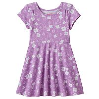 Toddler Girl Jumping Beans® Pattern Skater Dress