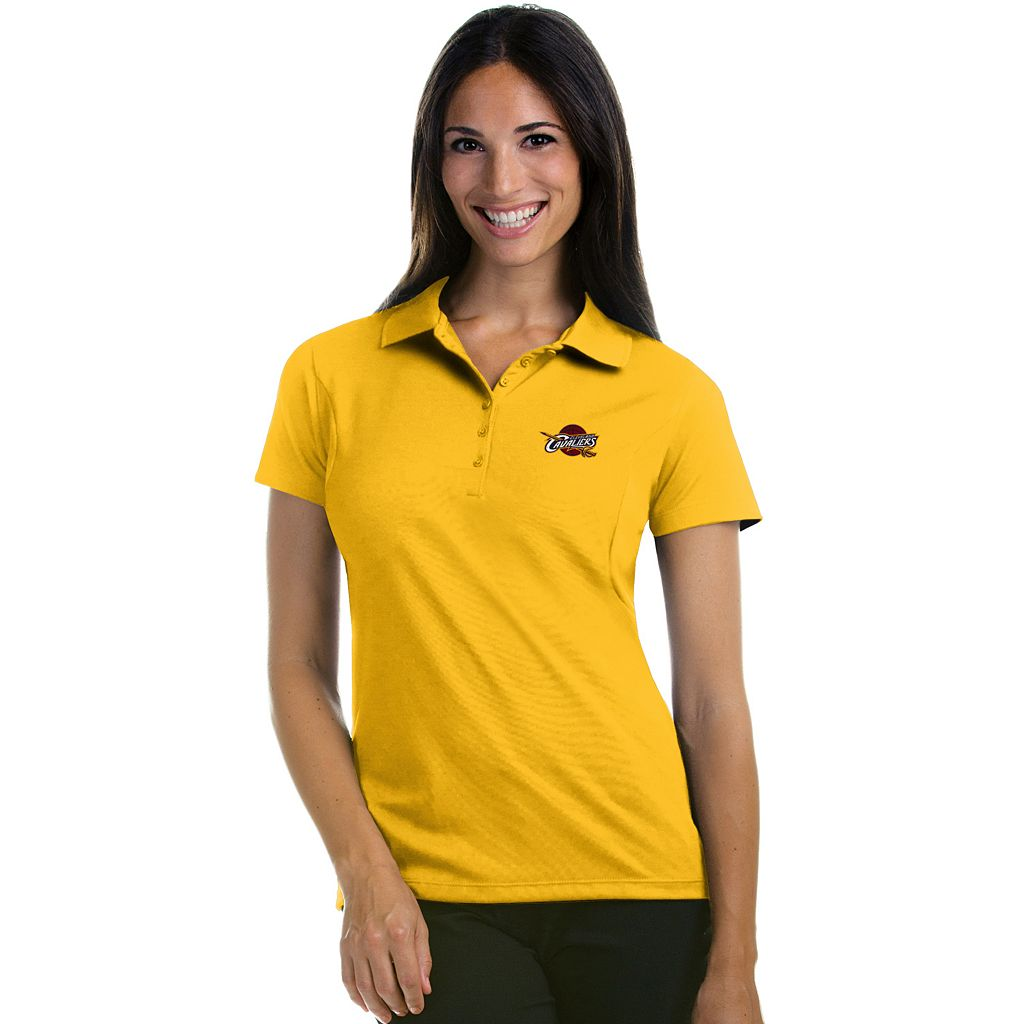 Women's Antigua Cleveland Cavaliers Pique Xtra-Lite Polo