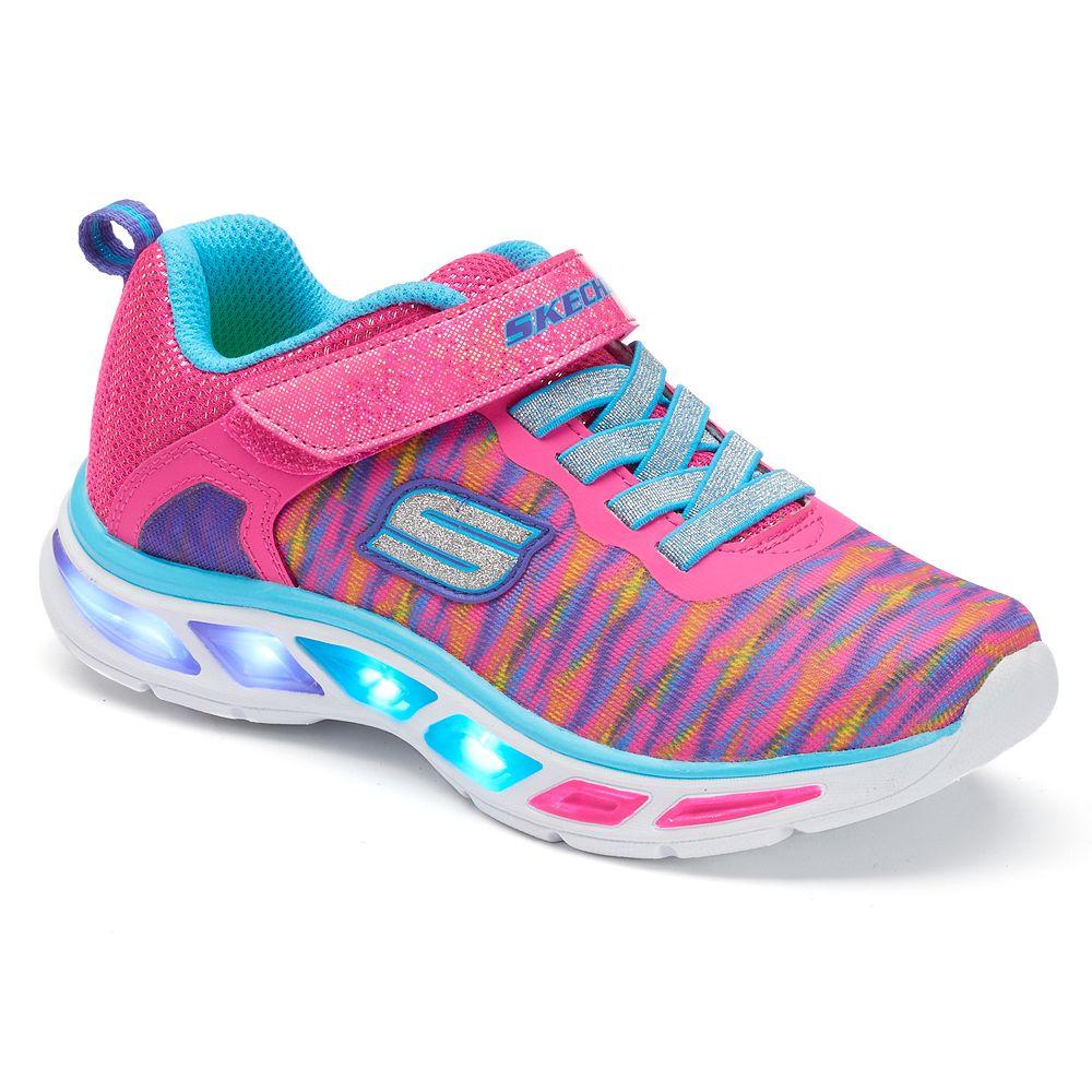 e6dc8988274b Skechers S Lights Litebeams Colorburst Girls  Light-Up Sneakers