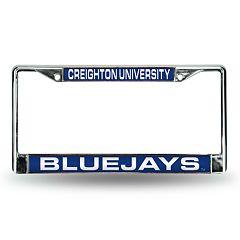 Creighton Bluejays License Plate Frame