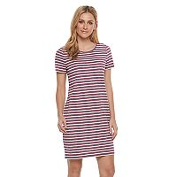 Women's' SONOMA Goods for Life™ Crewneck T-Shirt Dress