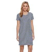 Women's' SONOMA Goods for Life™ Crewneck T-Shirt Dress