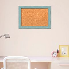 Amanti Art Small Weathered Framed Cork Board Wall Decor