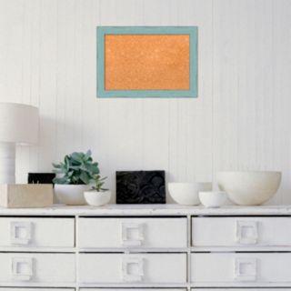 Amanti Art Small Weathered Framed Cork Board Wall Decor