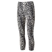 Juniors' Eye Candy Peached Print Capri Leggings
