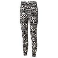 Juniors' Eye Candy Peached Print Leggings