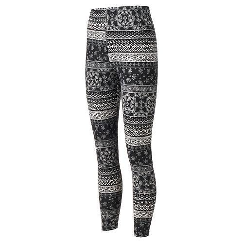 Eye Candy Leggings BLACK With White Stripes