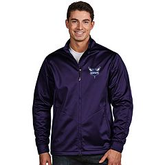 Men's Antigua Charlotte Hornets Golf Jacket