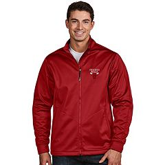 Men's Antigua Chicago Bulls Golf Jacket
