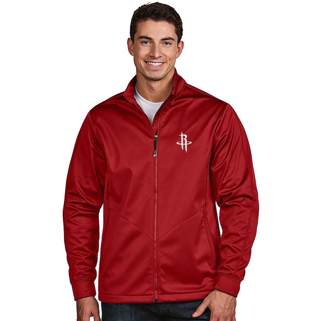 Men's Antigua Houston Rockets Golf Jacket