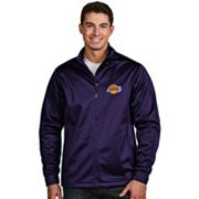 Men's Antigua Los Angeles Lakers Golf Jacket
