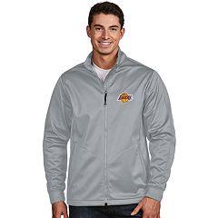 Men's Antigua Los Angeles Lakers Golf Jacket