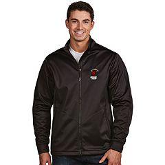 Men's Antigua Miami Heat Golf Jacket