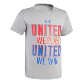 "Boys 4-7 Under Armour ""United We Play, United We Win"" Graphic Tee"