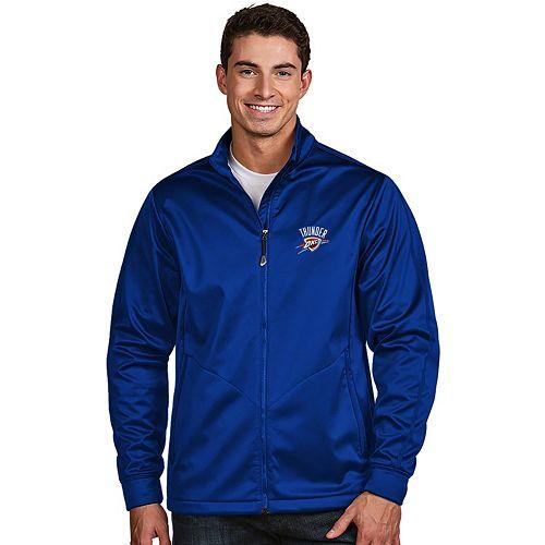 Men's Antigua Oklahoma City Thunder Golf Jacket
