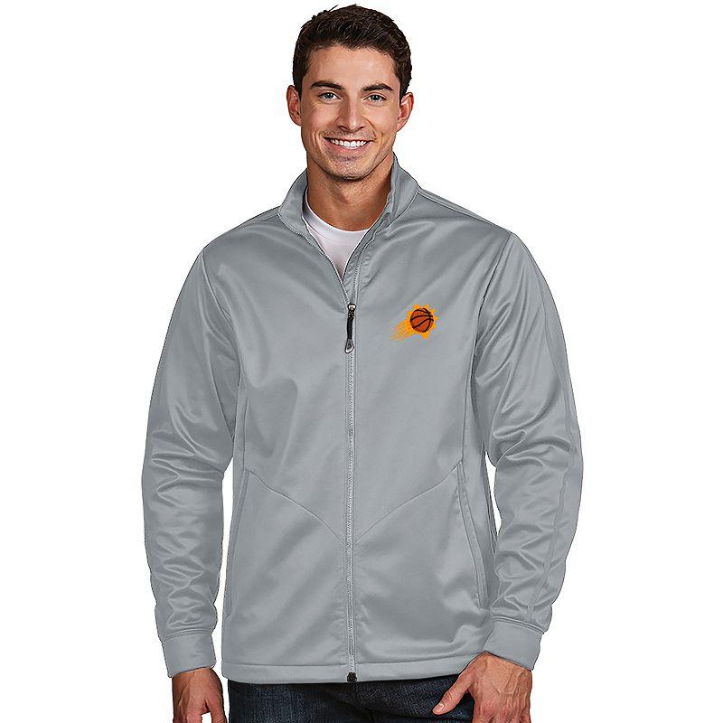 Men's Antigua Phoenix Suns Golf Jacket. Size: Small. Grey