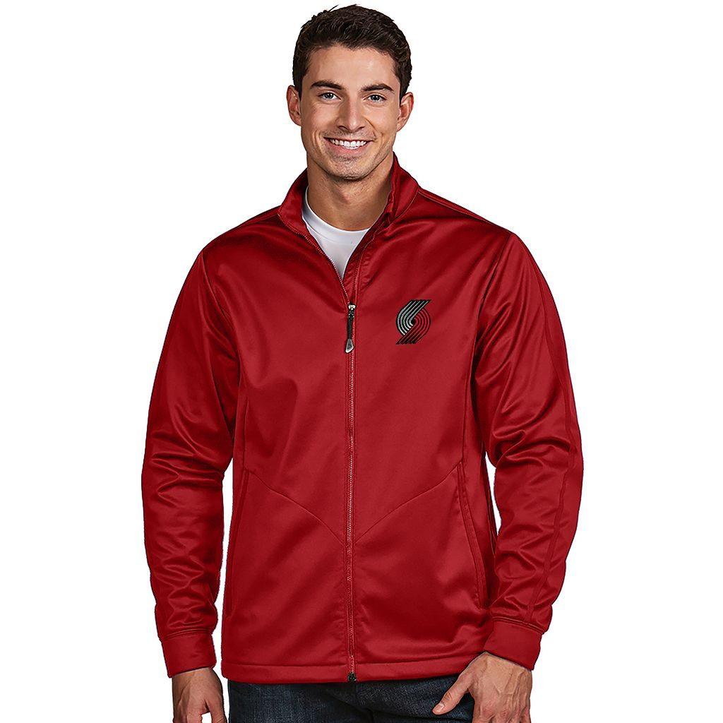 Men's Antigua Portland Trail Blazers Golf Jacket