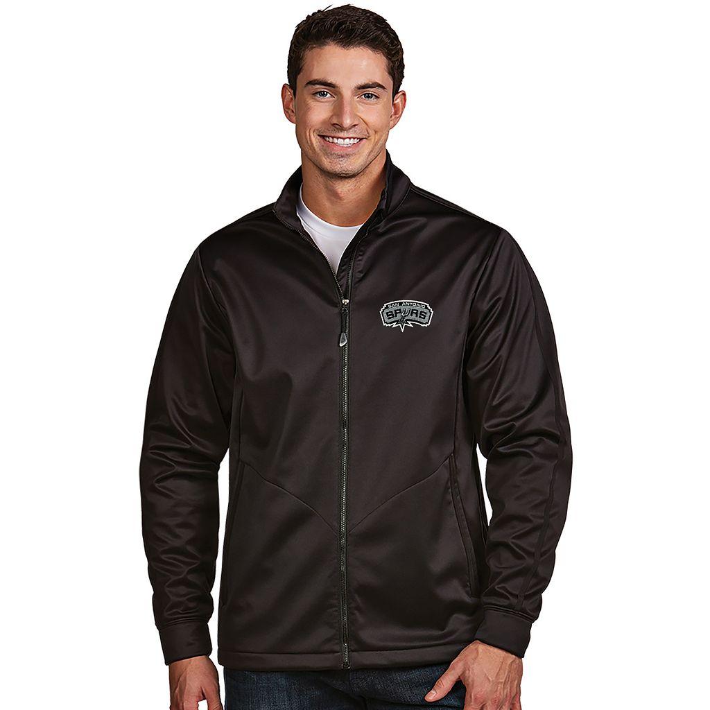 Men's Antigua San Antonio Spurs Golf Jacket