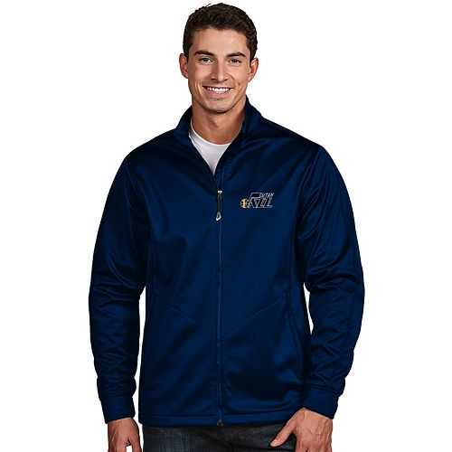 Men's Antigua Utah Jazz Golf Jacket