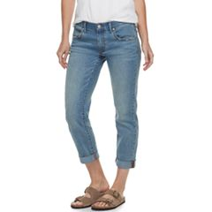 Womens Denim Crops & Capris - Bottoms, Clothing | Kohl's