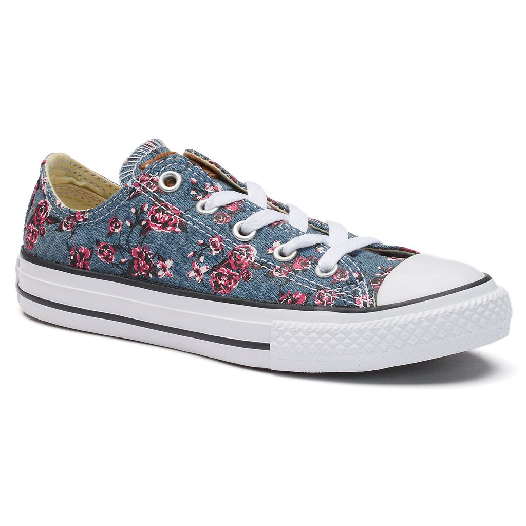 Girls' Converse Chuck Taylor All Star Roses Sneakers