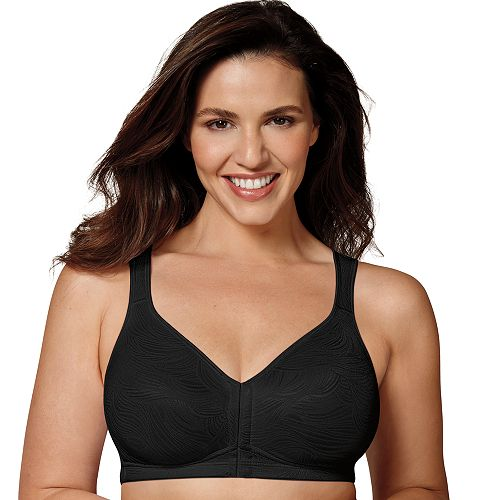 342c183d1 Playtex Bras  18 Hour Posture Boost Full-Figure Wire Free Front Closure Bra  USE525