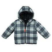 Baby Boy OshKosh B'gosh® Midweight Buffalo Check Jacket