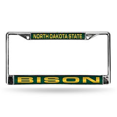 North Dakota State Bison License Plate Frame