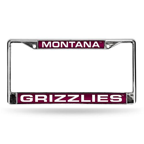 Montana Grizzlies License Plate Frame