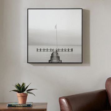 Madison Park Signature Pier View Deco Box Wall Art