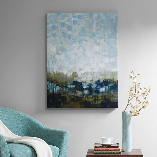 Madison Park Signature Abstract Land Canvas Wall Art