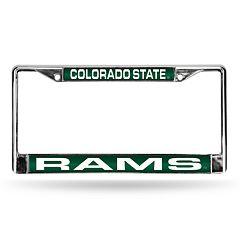 Colorado State Rams License Plate Frame