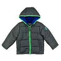 Toddler Boy OshKosh B'gosh® Quilted Colorblock Heavyweight Puffer Jacket
