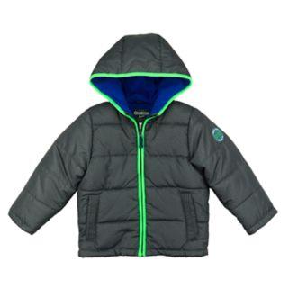 Toddler Boy OshKosh B'gosh® Quilted Colorblock Heavyweight Puffer Jacket