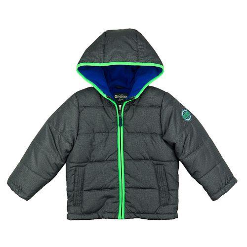 953af0477 Toddler Boy OshKosh B gosh® Quilted Colorblock Heavyweight Puffer Jacket