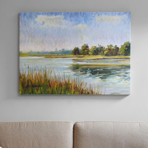 Madison Park Signature View In Bliss Canvas Wall Art