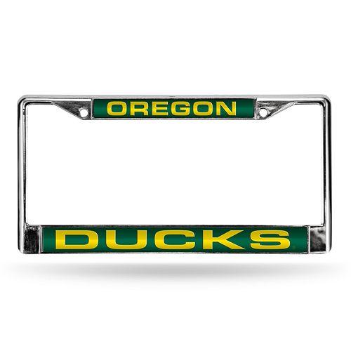 Oregon Ducks License Plate Frame