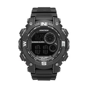 Armitron Unisex Digital Chronograph Sport Watch – 40/8284BLK