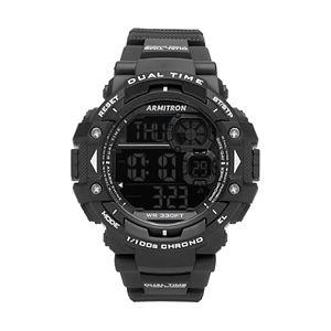 Armitron Unisex Digital Chronograph Sport Watch - 40/8309BLK